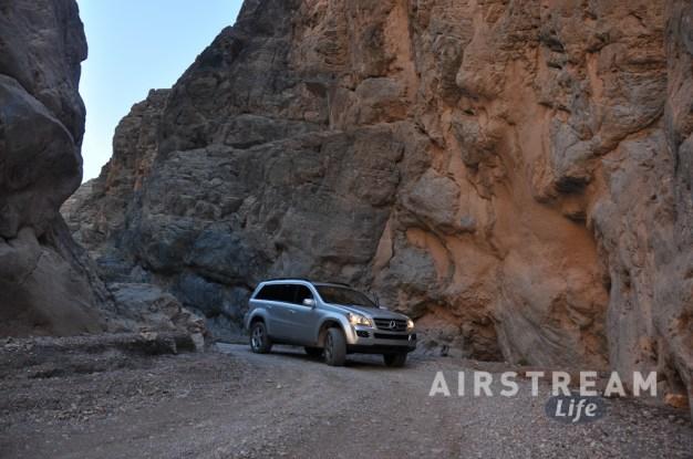 Death Valley Titus Canyon Mercedes
