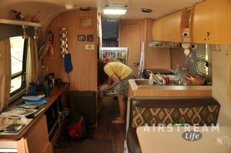Organ Pipe Airstream interior