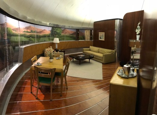 Buckminster Fuller Dymaxion house by Rich Luhr