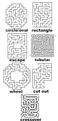 Mazes to Print - Hard Mazes to Print