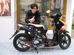 Motor Beat Modifikasi Mencicipi Honda Beat Fi
