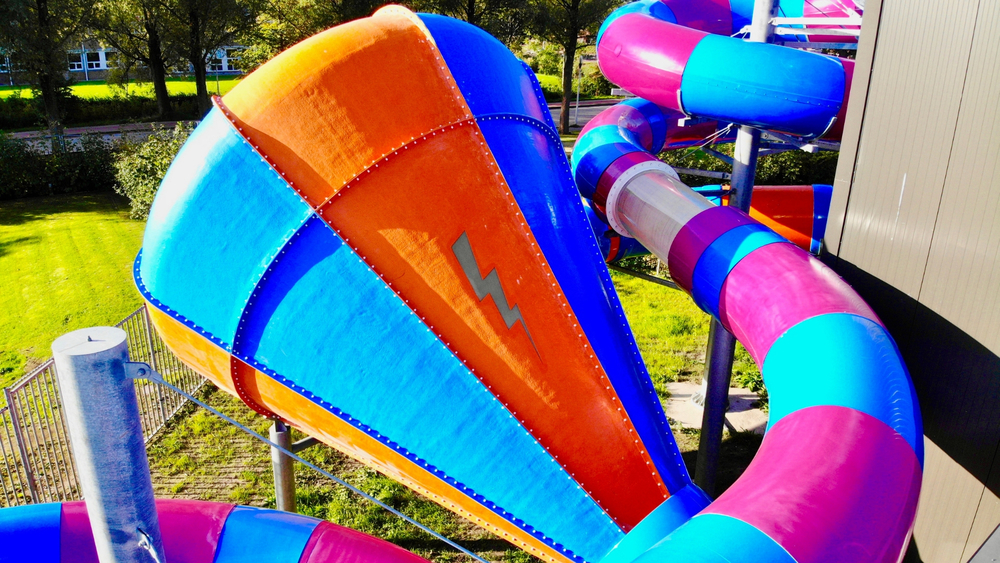 Zwembad Moers Water Slides - Realizations - Firma Mazur