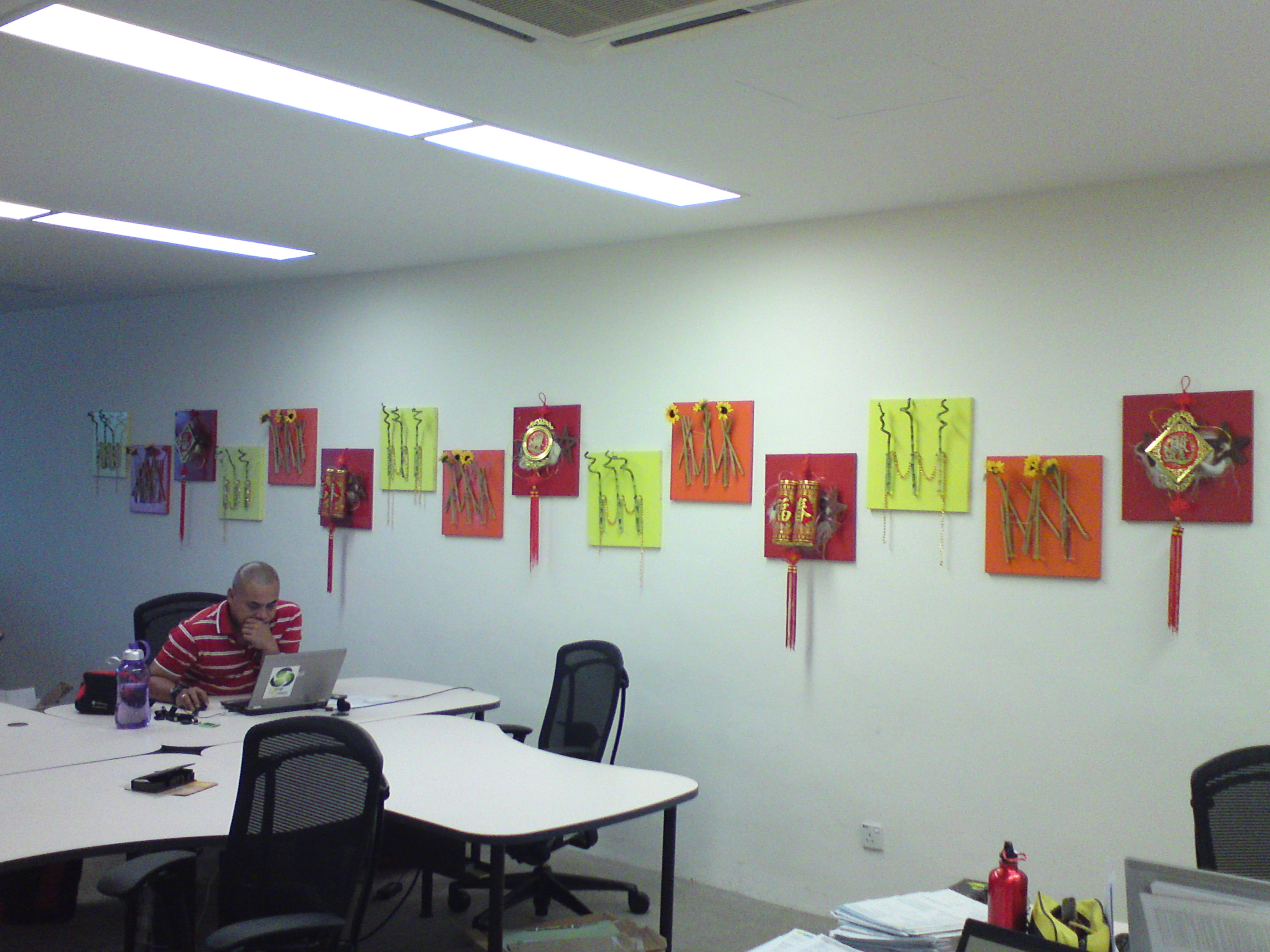 Decoration Bureau Chinese New Year Decoration Ideas For Office