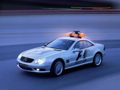 2001 R230 10 F1 Safety Car - Mercedes-Benz Wallpaper - MB-Wallpaper.de