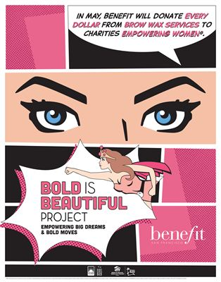 Benefit Cosmetics Launches the Bold Is Beautiful Project In Canada - bold project