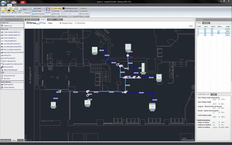Panasonic\u0027s New Advanced VRF Software with AutoCAD® compatibility - autocad designers