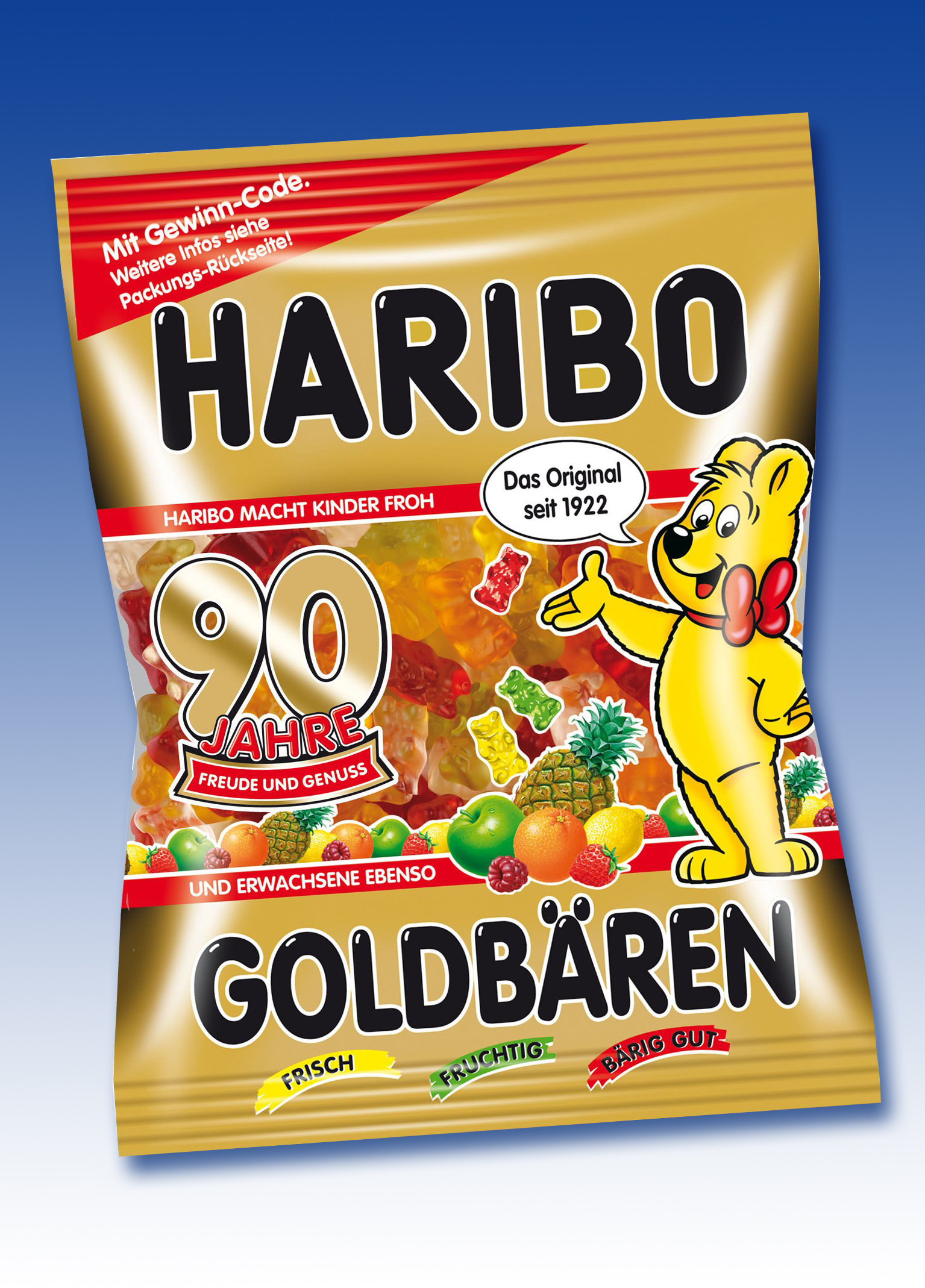 Bettwäsche Kinder Riegel GoldbÄren Jubiläumsbeutel 2012 Haribo Gmbh And Co Kg