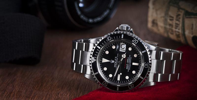 Hd Standard Wallpaper Rolex Red Submariner 1680 Watchfinder