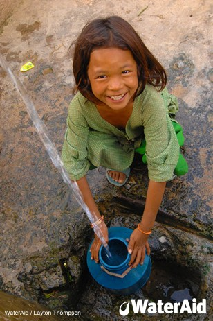 WaterAid clean water