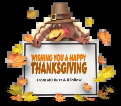 Happy Thanksgiving MB Buzz Reollow teams