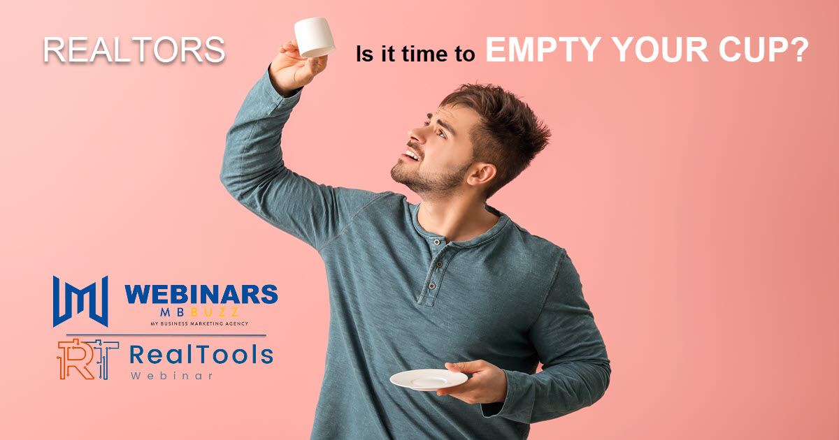 Realtors its time to empty your cup