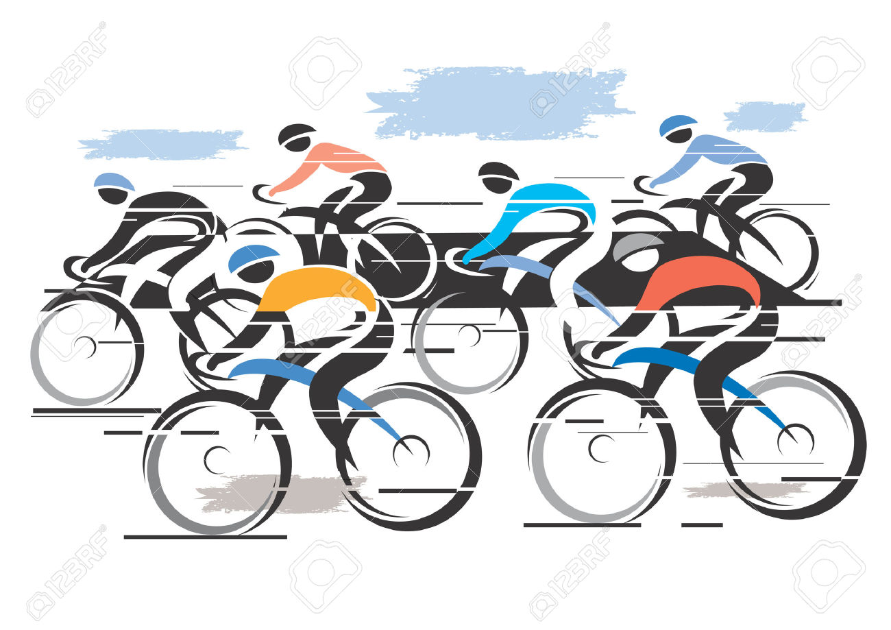 Racing Bicycle Clipart Road Grande Pointe 3