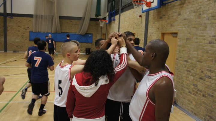 Soul Men team huddle