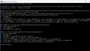Node.js - mapnik installation