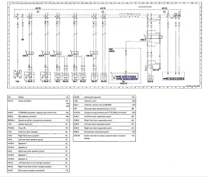 speaker wiring with crossovers