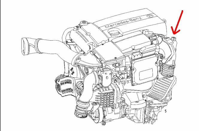 2005 mercedes benz c230 engine diagram