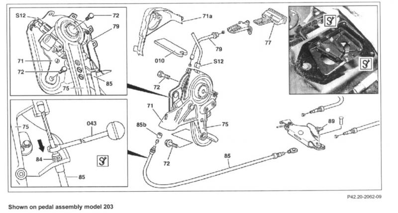 Parking Brake Sensor - MBWorldorg Forums