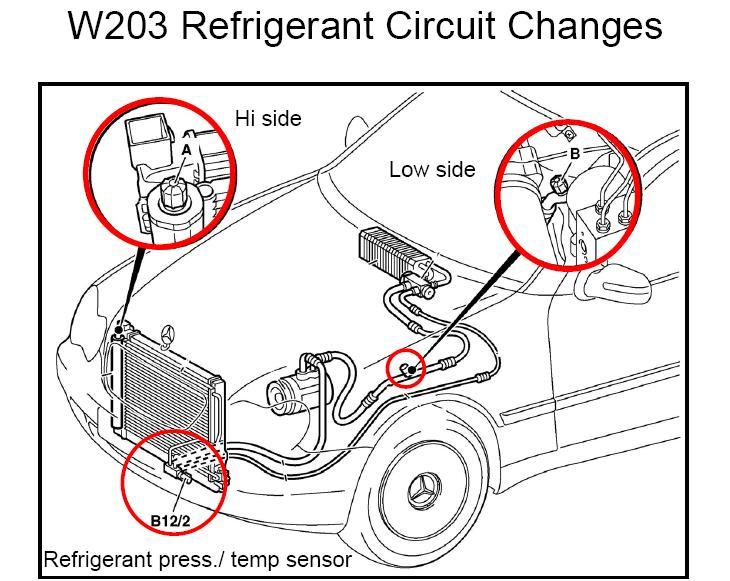 ac schematic 1997 mercedes c230