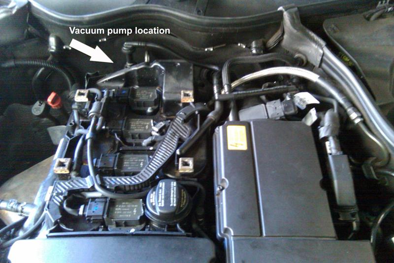 DIY 05 C230 Vacuum Pump replacement - MBWorldorg Forums