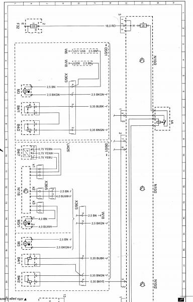 2007 mercedes c280 fuse box diagram