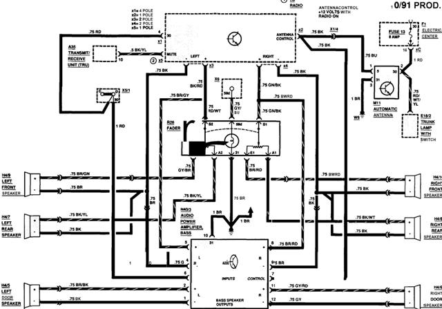 gm aftermarket stereo wiring diagram 16
