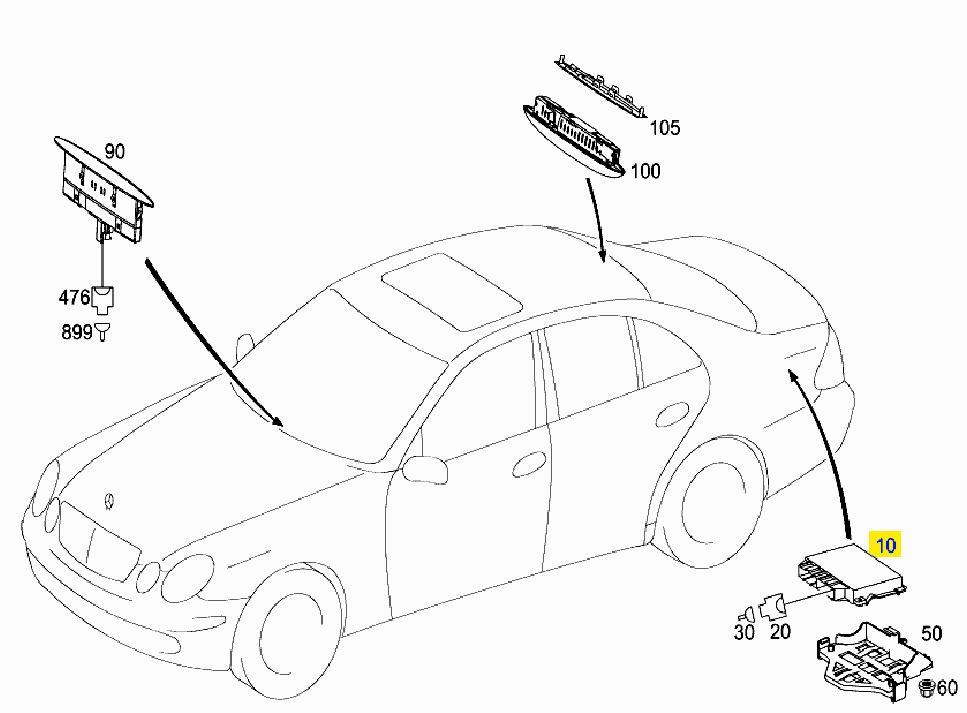 park sensor Schaltplang