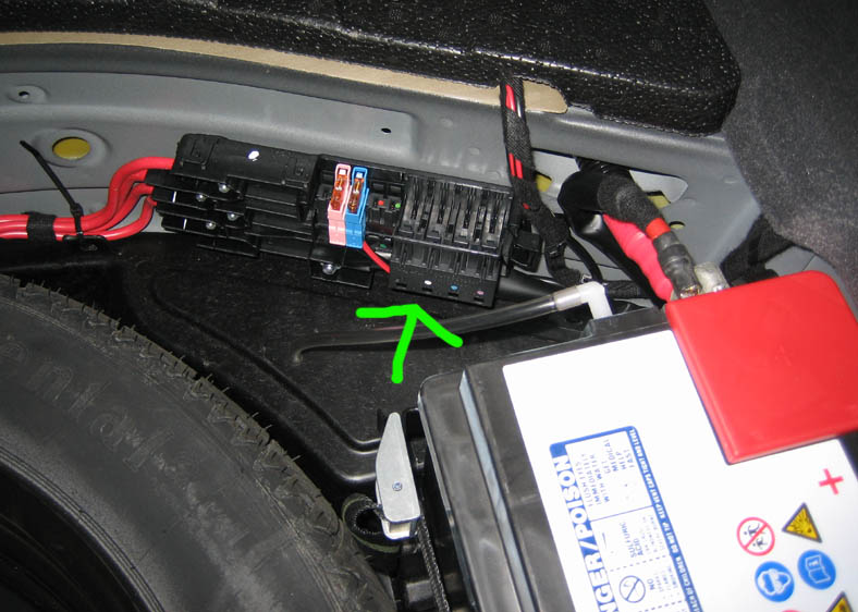mercedes car fuse box