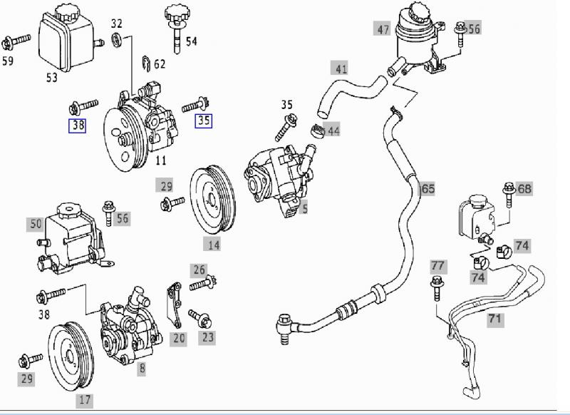 2005 mercedes c240 engine diagram
