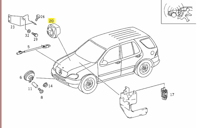 DIAGRAM OF 98 MERCEDES ML320 ENGINE - Auto Electrical Wiring Diagram