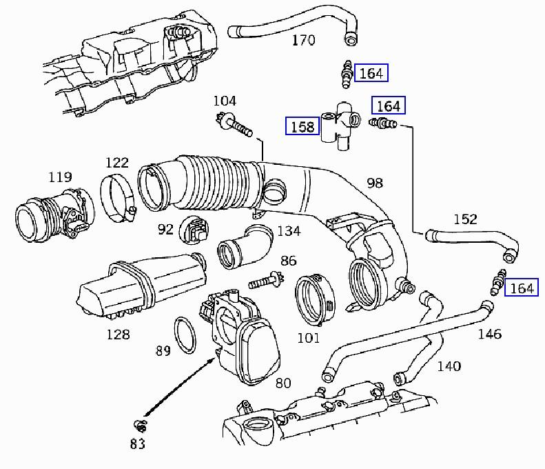 mercedes benz pcv valve
