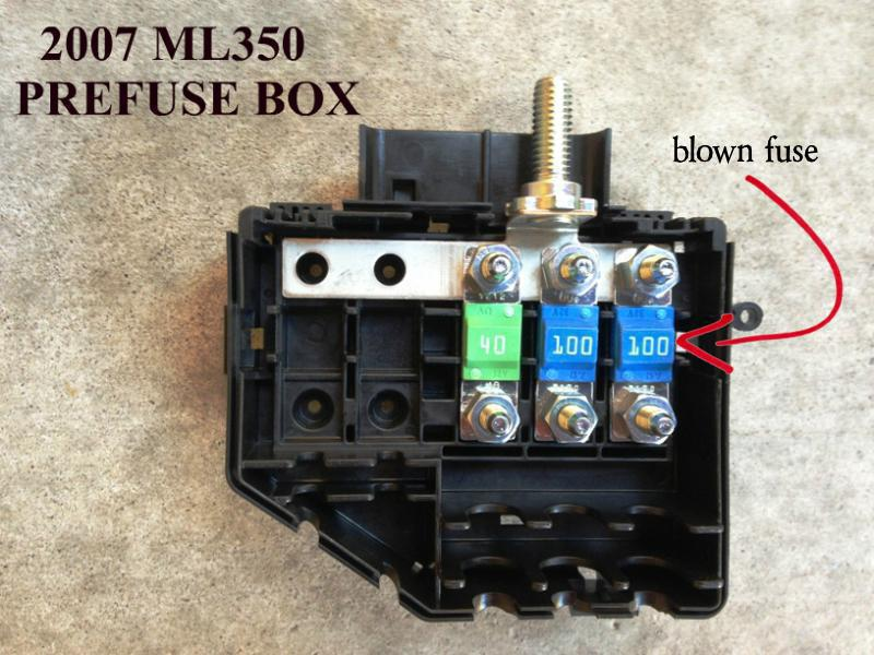 Glk Pre Fuse Box - Wiring Data Diagram