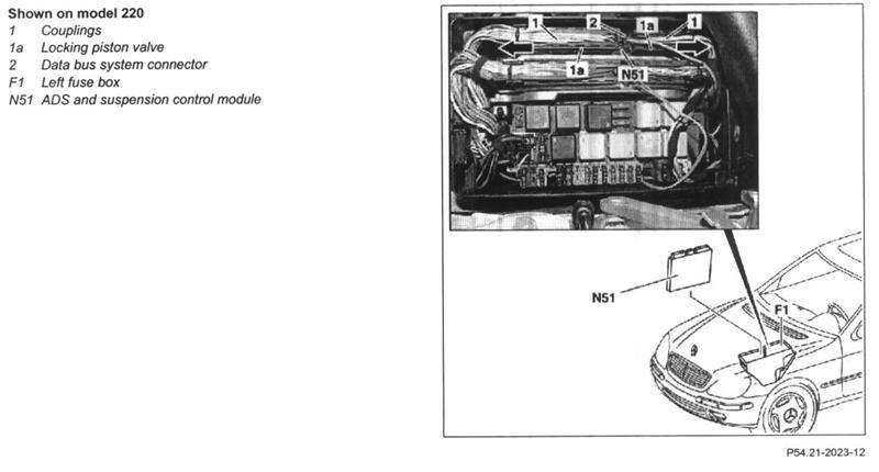 mercedes benz s430 fuse box diagram