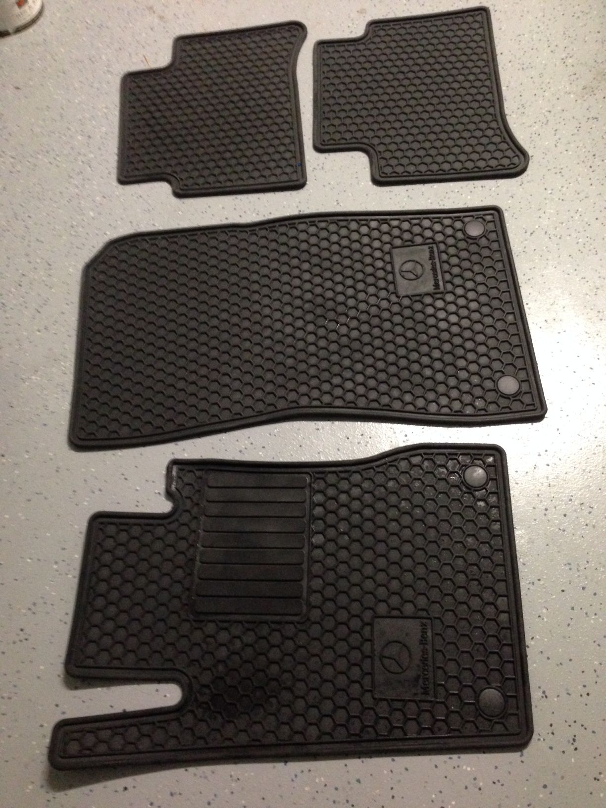 For sale w211 mb all weather floor mats mb awmats 3
