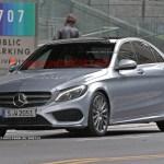 2015 Mercedes-Benz C-Class Spy Shot (13)