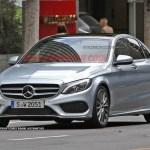 2015 Mercedes-Benz C-Class Spy Shot (14)