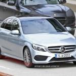 2015 Mercedes-Benz C-Class Spy Shot (16)