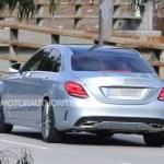 2015 Mercedes-Benz C-Class Spy Shot (3)