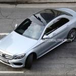 2015 Mercedes-Benz C-Class Spy Shot (8)