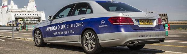 Mercedes-Benz E300 BlueTec Hybrid Africa to UK