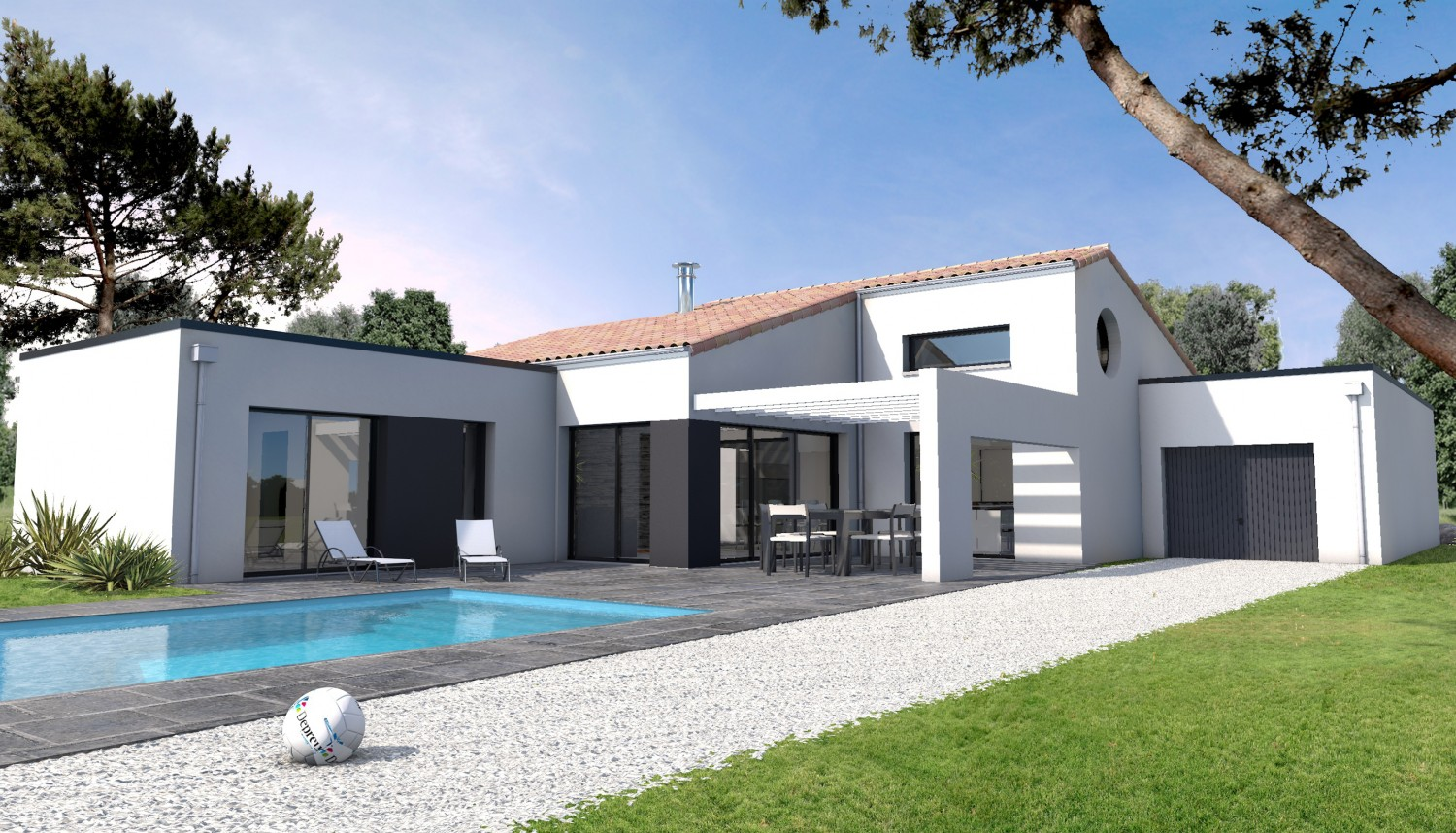 Style De Maison Contemporaine Construction Maison Moderne Mc Immo