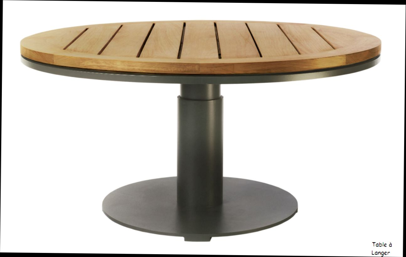 Table De Jardin Ronde Table Ronde Jardin - Mc Immo