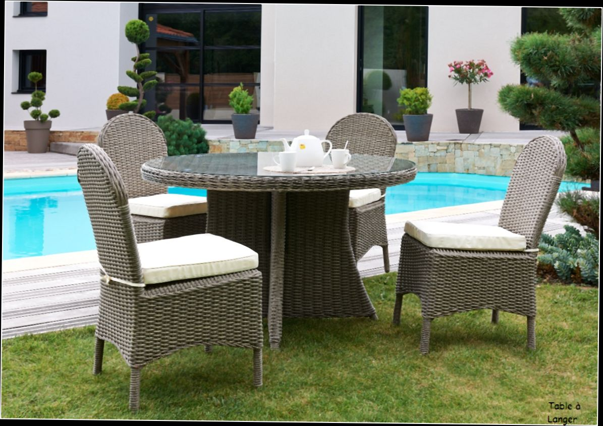 Table De Jardin Plastique Avec Rallonge | Stunning Table De Jardin ...