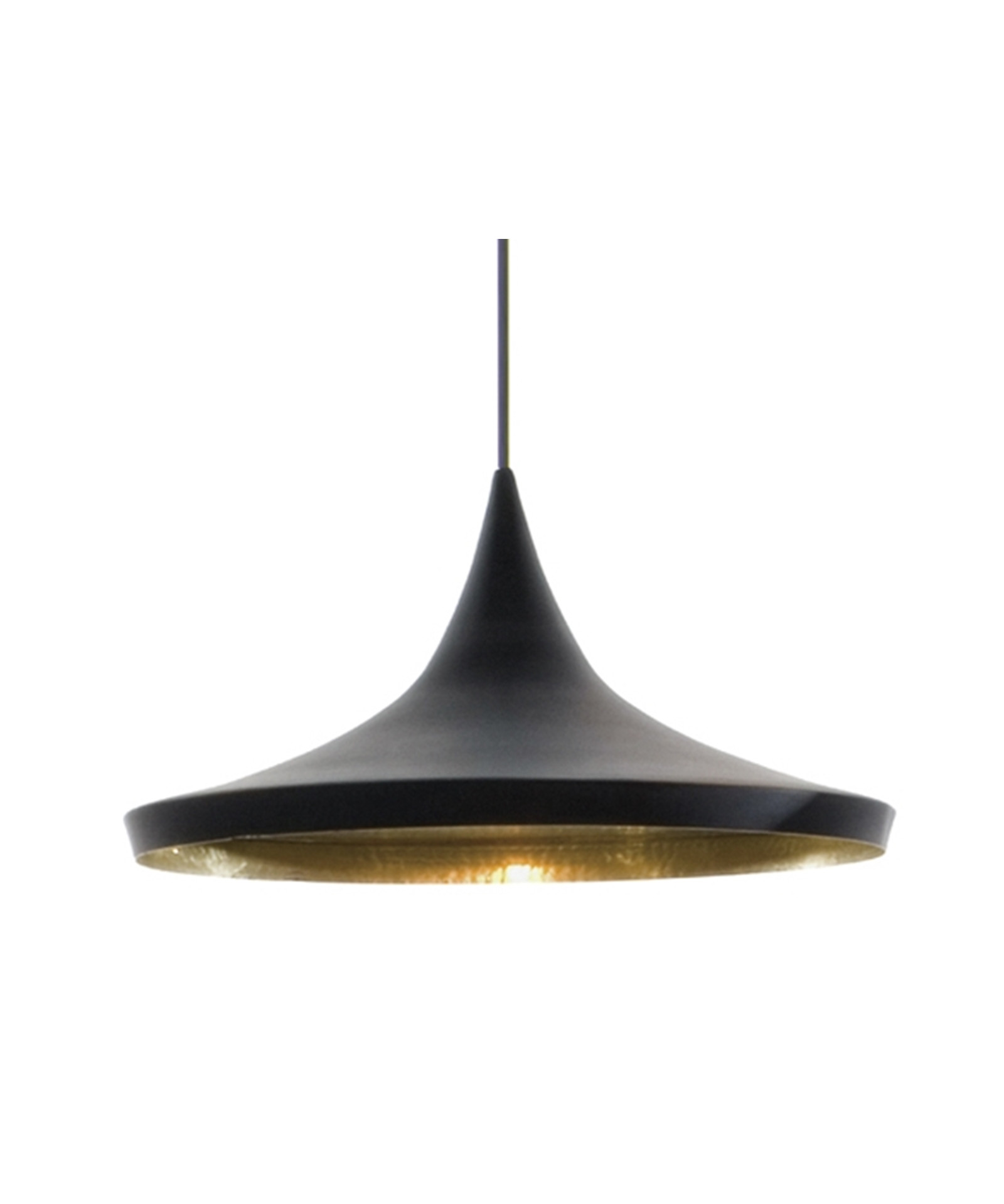 Badezimmer Lampe Hue Beat Light Wide Pendelleuchte Schwarz - Tom Dixon