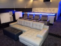 Palliser Media Sectional with 4 Palliser Home Theater ...
