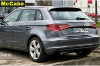 Audi A3 Sportback 5 Dr RR 2013 onwards Roof Rack System ...