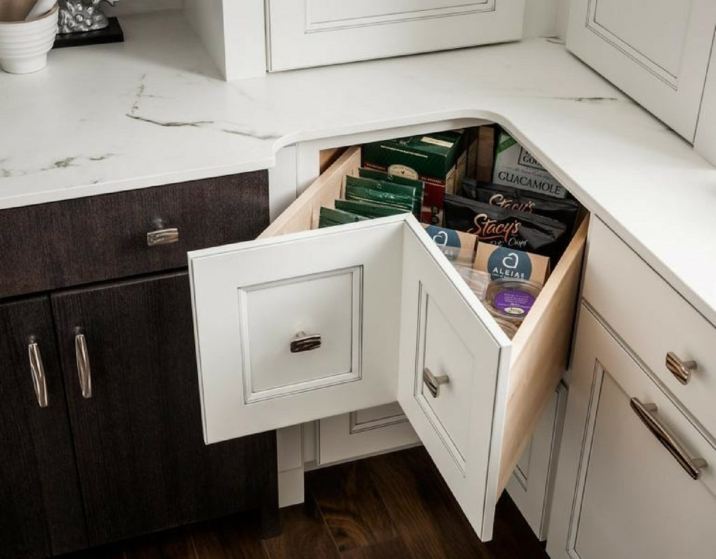 Corner Drawer Kitchen Cabinet Innovative Solutions 4 Great Kitchen Corner Cabinet Ideas