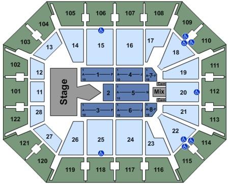 Mohegan Sun Arena Tickets - Mohegan Sun Arena in Uncasville, CT at