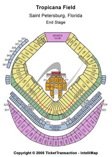 tropicana field seating chart - Heartimpulsar