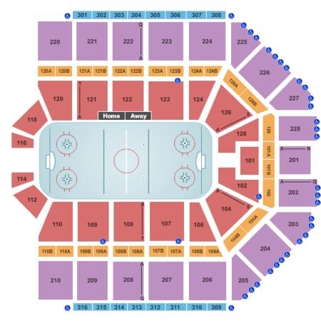 Grand Rapids Griffins vs Hershey Bears Tickets - Van Andel Arena in