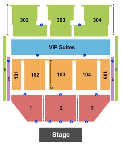 Theater at MGM National Harbor Tickets, Seating Charts and Schedule